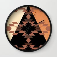 mexico Wall Clocks featuring Mexico by Laura Santeler