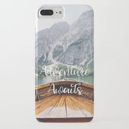 Live the Adventure - Adventure Awaits iPhone Case