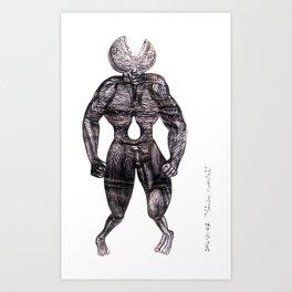 ha/ombre perpetua/o Art Print