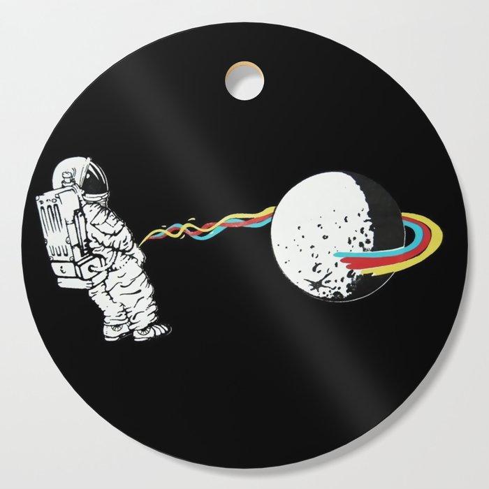 Astronaut's pee Cutting Board