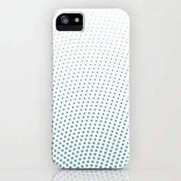 Intensive phobia: Blue iPhone Case