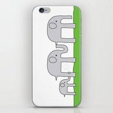 Elephant Family iPhone & iPod Skin