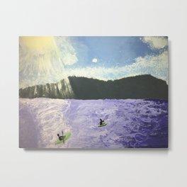 Pippin Lake Metal Print