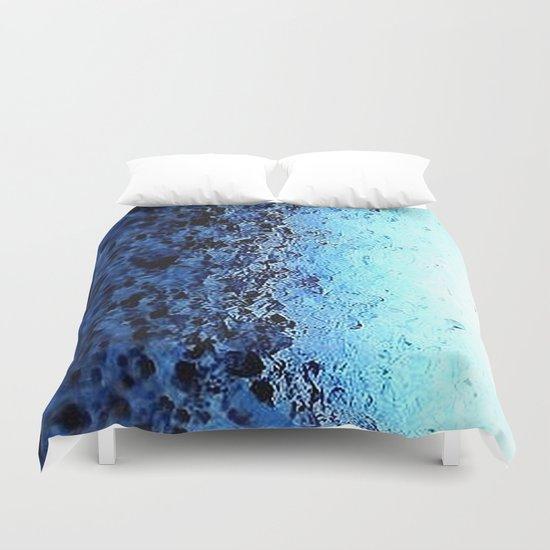 Blue Ombre CrystalS Duvet Cover
