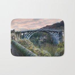 The Bridge across the Severn Gorge Bath Mat