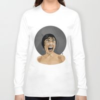 psycho Long Sleeve T-shirts featuring Psycho by Beethowen Souza