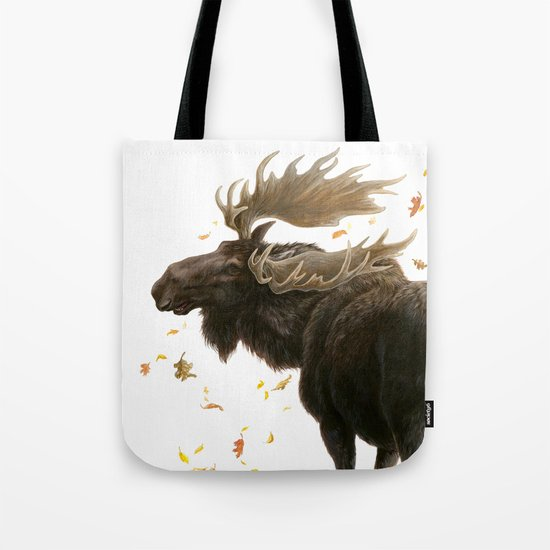 Moose Reflection Tote Bag