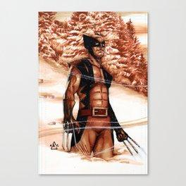 Winter of Wolverine  Canvas Print