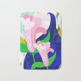 Blue Leaf Bath Mat