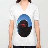 my chemical romance V-neck T-shirts featuring My Chemical Romance  by Christopher Chouinard