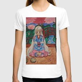 Dafu in a Kimono T-shirt