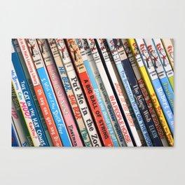 Beginner Books Canvas Print