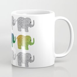 Nine Elephants Coffee Mug
