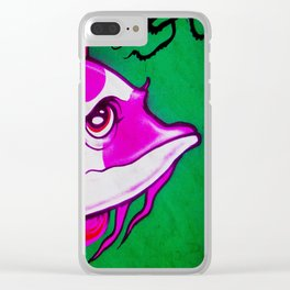 Wall Fish Clear iPhone Case