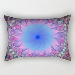 Hippie Starburst Mandala Rectangular Pillow