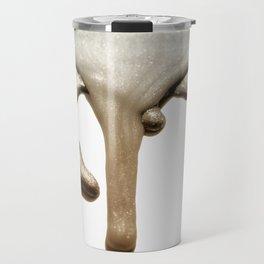 LIQUID SILVER & NUDE Travel Mug