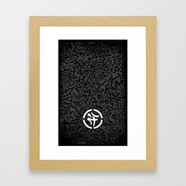 KLCTVEfusion Elephant Skin print Framed Art Print