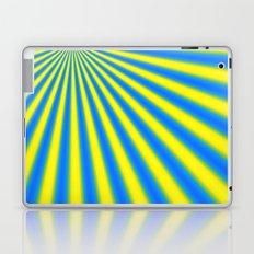 blue and yellow fractal Laptop & iPad Skin