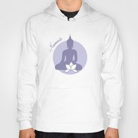 namaste Hoodies featuring Namaste by AllisStudio