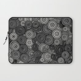 Heavy iron / 3D render of hundreds of heavy weight plates Laptop Sleeve