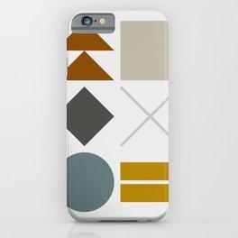 Mid West Geometric 03 iPhone Case