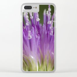 The Beauty within Clear iPhone Case