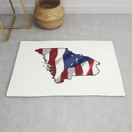 Patriotic Maine Rug