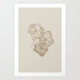 All bloomed out Art Print