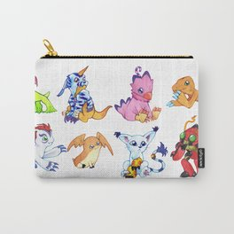 Digimon Group Carry-All Pouch