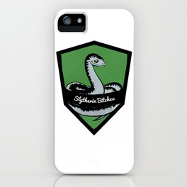 Slytherin Bitches! iPhone Case