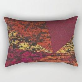 Corner Splatter # 7 Rectangular Pillow