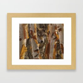 Wolf - The Guardian Framed Art Print
