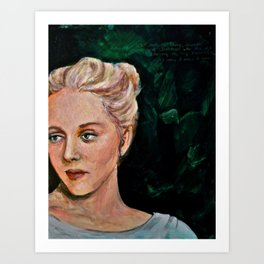 Sylvia Art Print