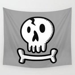 Skull 'N Bones Wall Tapestry
