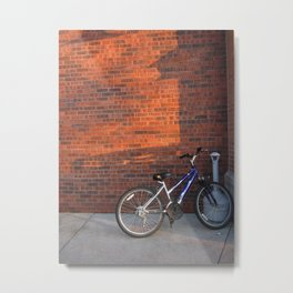 Do Not Worry How The Bicycle Looks Metal Print