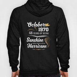 October 1970 Sunshine mixed Hurricane Hoody