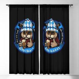 Oberbayer - Bavaria Fun Shirt zum Wohl mitnand Cat Blackout Curtain
