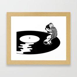 Don't Just Listen, Feel It Framed Art Print