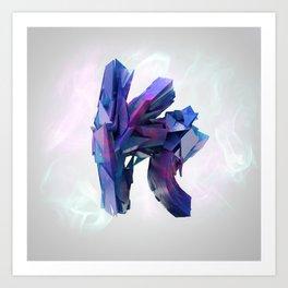 Letter Series: K Art Print