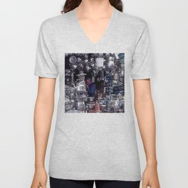 Moroccan Market Place: Cookware Booth Unisex V-Neck