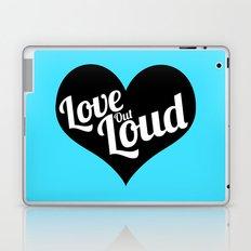Love Out Loud - Black & White Laptop & iPad Skin