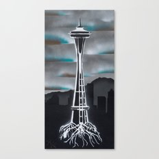 Rooted in Seattle 2 Canvas Print