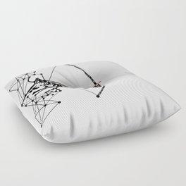 the Archer Floor Pillow