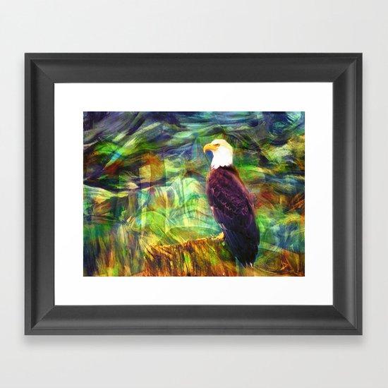 West Coast Eagle Framed Art Print
