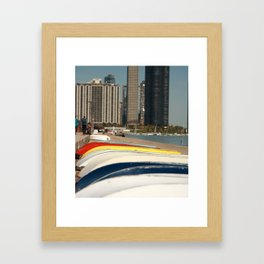 Focus Lakefront Chicago Framed Art Print