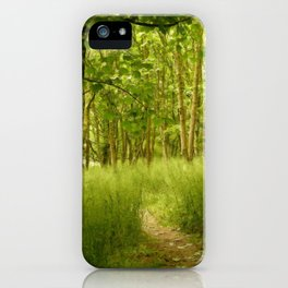 The Woodland Path iPhone Case