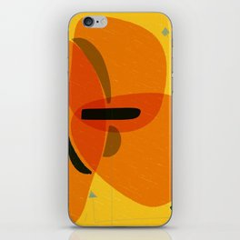 Horizons | Happy art | Wall art iPhone Skin