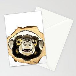 Honey Badger Stationery Cards