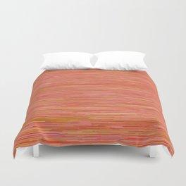 Series 7 - Tangerine Duvet Cover