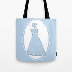 The Historical Fashion Plate Series: Victorian Miss Tote Bag